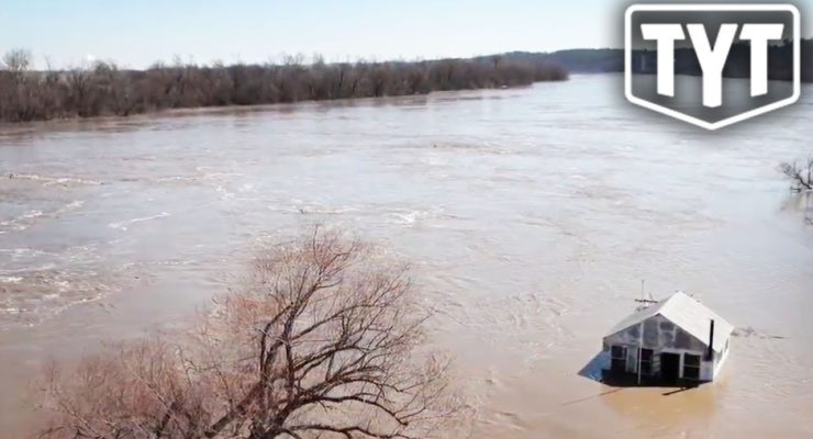 Global Heating Helped Cause the Massive Midwest Floods but TV Didn't Tell you That