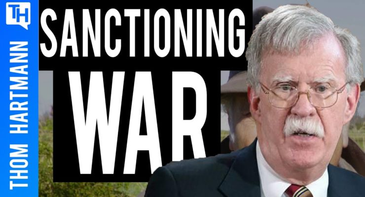 """Trump appointee Bolton inventing a new """"Axis of Evil,"""" including Iran, to put US on War Footing"""