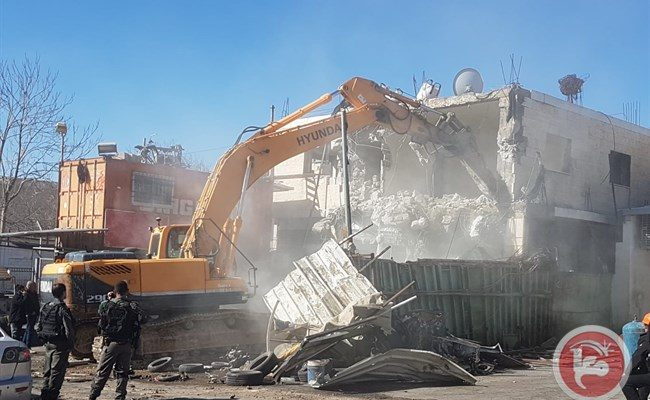 Israel Demolished 41 Palestinian-Owned Structures in Two Weeks