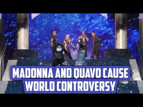 Madonna, Iceland's Hatari, Display Palestinian Flags at Eurovision in Israel