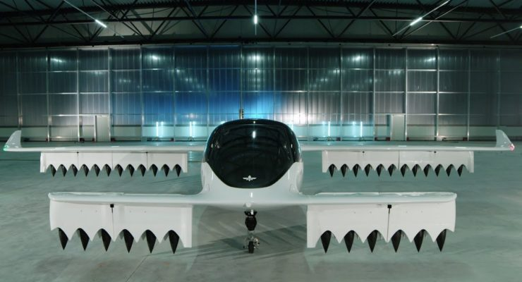 Zero Carbon Electric Air Taxi 5-Seater Completes Maiden Flight in Germany