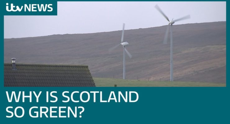 Scotland's Green Energy makes Enough Electricity 1st Quarter to power 88% of Households