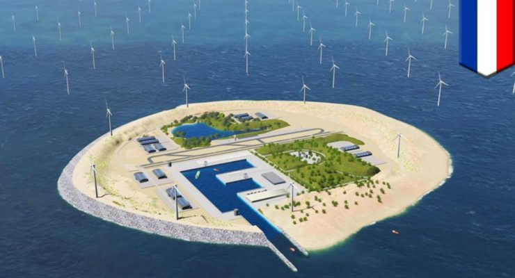 """180 Gigs of Offshore Wind: Europe May Build 10 Artificial North Sea """"Energy Islands"""""""