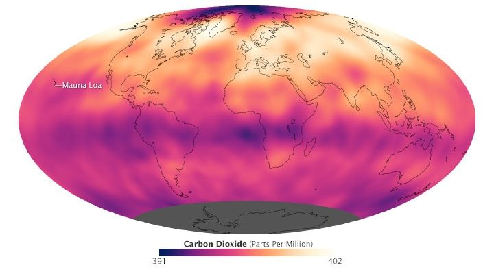 Humans set new Record putting Heat-Trapping CO2 into Atmosphere and What that Means