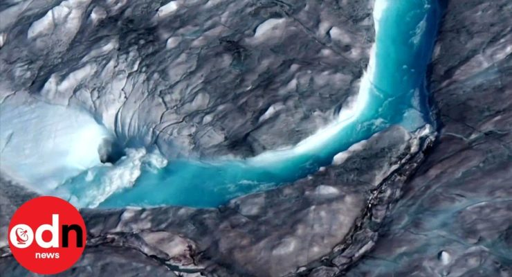 Be Afraid, Very Afraid: Greenland Ice Sheets Cascading into Ocean 50 Years Ahead of Schedule