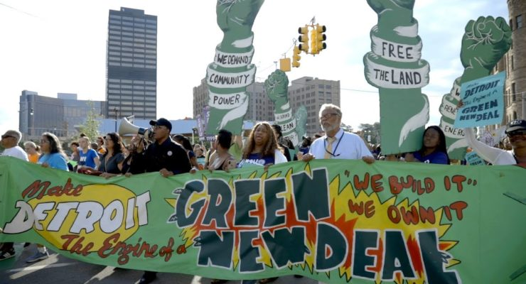 Environment or Jobs?  The Green New Deal can Boost Both