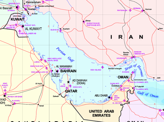 After Trump Flaked Out re: Iran, Is the United Arab Emirates backing off Conflict?