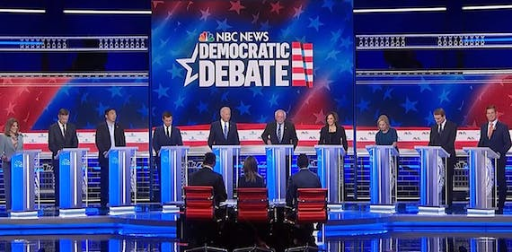 How TV cameras influence candidates' debate success