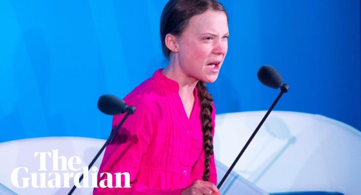 Greta Thunberg's Generational J'accuse: It's a Crime to Cause the Climate Crisis