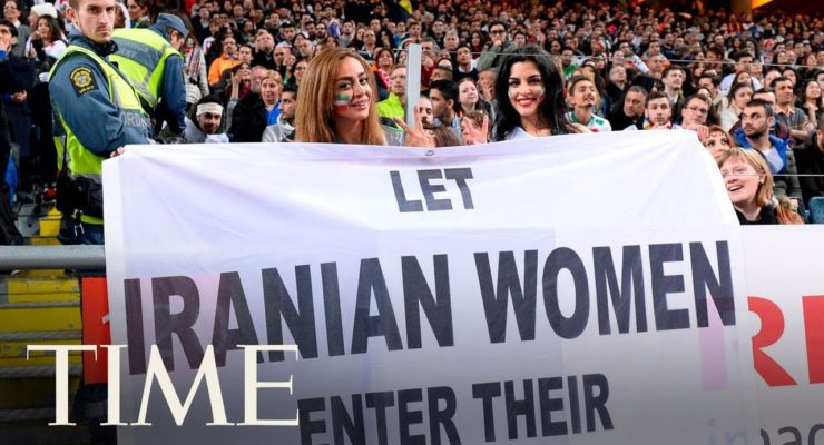 Iran: After barred woman Fan sets herself Alight, Soccer Star Condemns Female ban at Stadiums