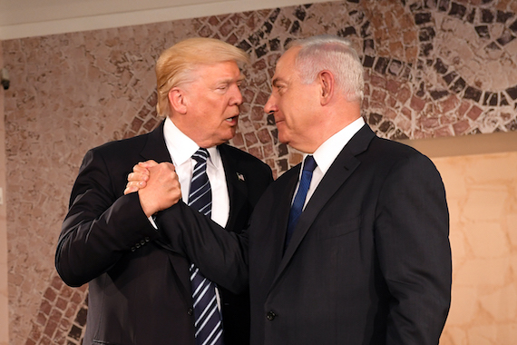 Donald Trump: The Face of Israeli PM Netanyahu's Campaign