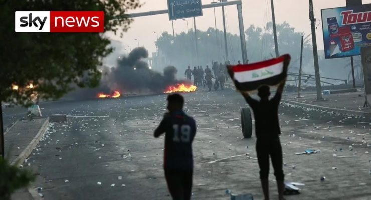 Baghdad's Youthquake: Iraq's Young Protestors 'Have Nothing Left To Lose'