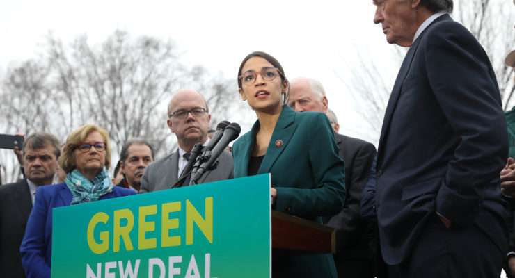 We're not Serious about the Climate Emergency: There's Still no 'Green New Deal' Bill in Congress