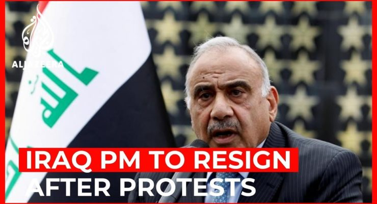 Iraqi Crowds Erupt in Joyous Celebrations as PM, elected under Bush Constitution, Offers to Resign