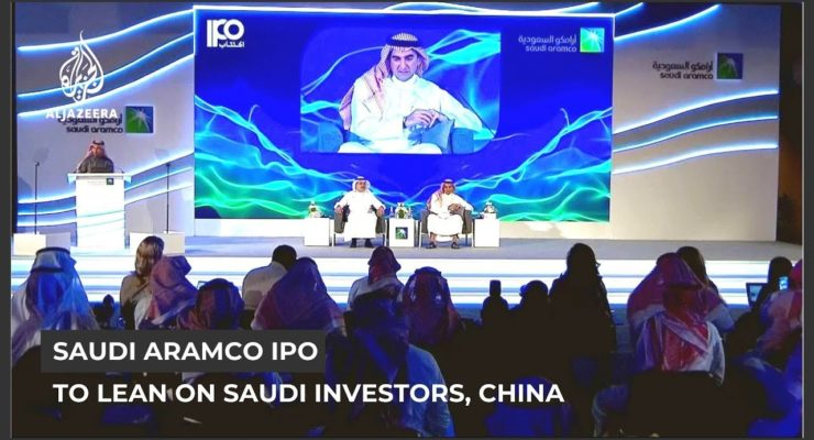 Saudi Oil Giant Aramco's $1.5 trillion IPO flies in the face of our Climate Crisis Reality
