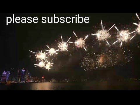 2020 New Year Celebration Fireworks in the Middle East