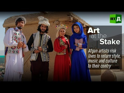"""'Art-ivist' Omaid Sharifi: """"There is so much more the world should know about Afghanistan"""""""