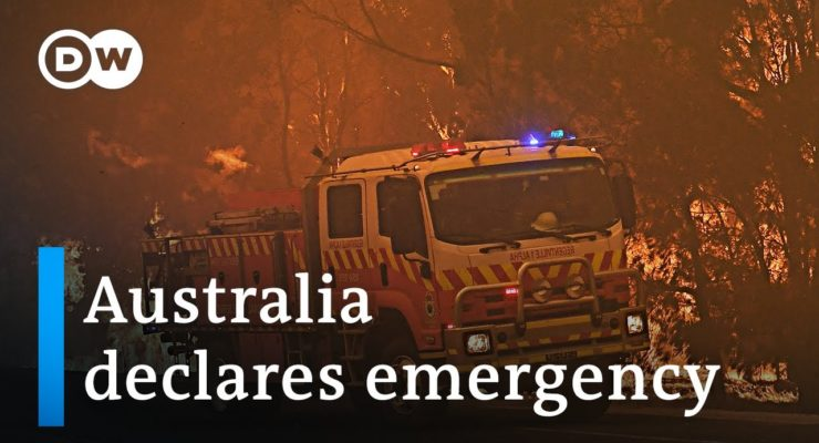 Climate Crisis Rages in Australia, with 14 of 15 hottest Places in World and Sydney Fire-Besieged