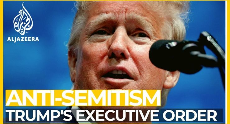 Patronizing Jews and Persecuting Palestinians: The Trump Executive Order
