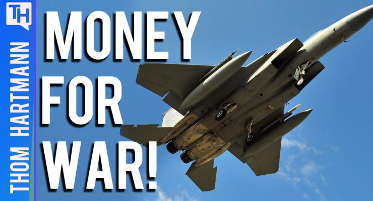 The Military-Industrial State Just Keeps Getting More Expensive for the Rest of US