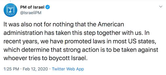 Israel's Netanyahu boasts of having Destroyed US 1st Amendment and Free Speech