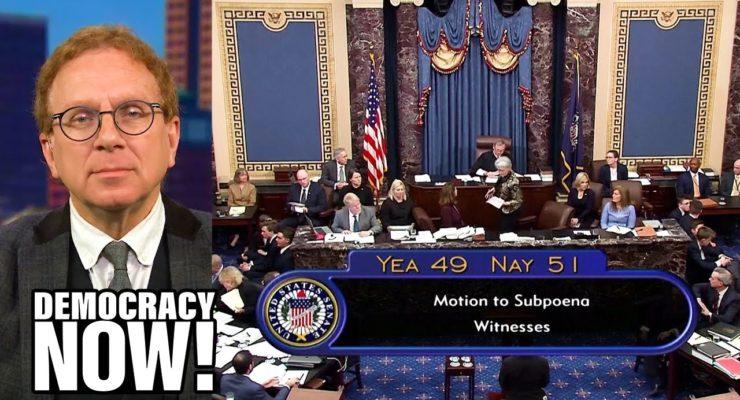 The Senate's Make-Believe Trial of Donald Trump