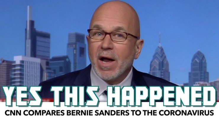 The Plutocracy Strikes Back:  CNN Compares Bernie Sanders to Coronavirus
