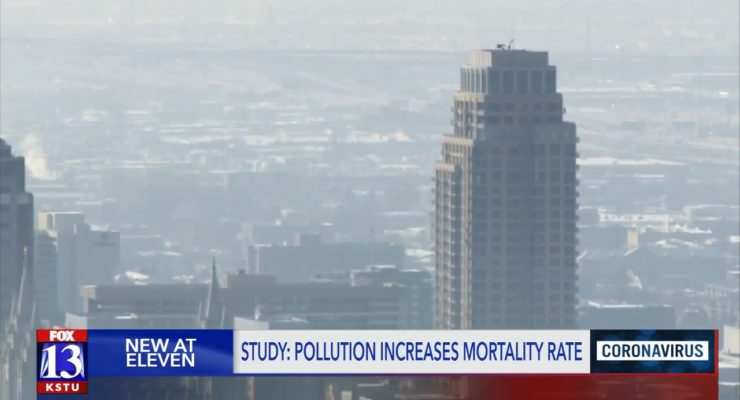 Burning Fossil Fuels made Coronavirus Death Rate Worse, and Kills 200K Americans per Year, Not to Mention Global Heating