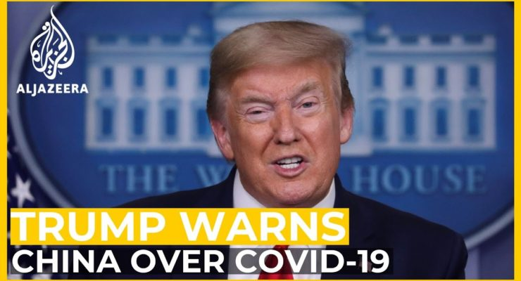 Trump trots out Blaming China for his own Pitiful Covid-19 Failures
