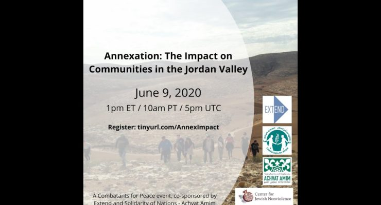 Between a Rock and a Hard Place: Palestinian Farmers Struggle against Annexation and the Pandemic