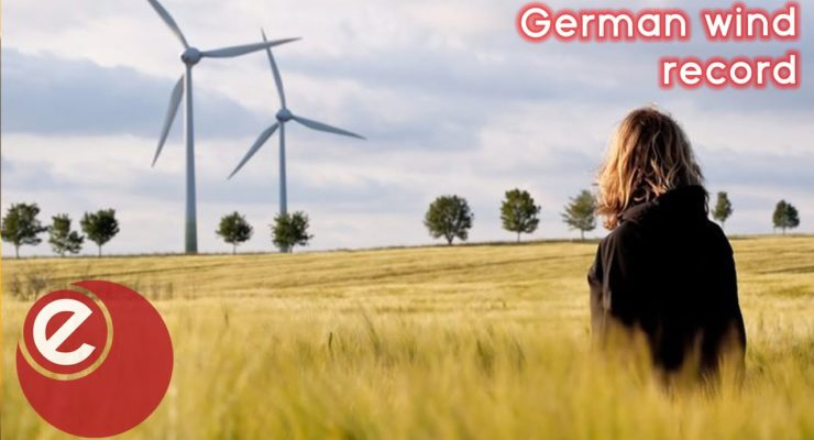 In 2020, Wind and Solar could cover nearly Six Months of Germany's Annual Power Demand
