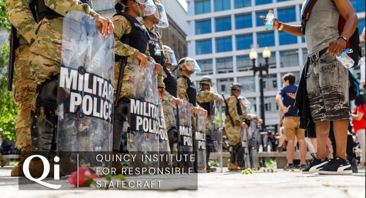 Police, Prisons, and the Pentagon: Defunding America's Wars at Home and Abroad