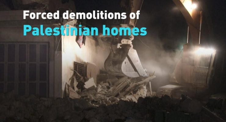 Israelis have demolished 650 Palestinian Homes in Jerusalem just this year, Wrong even without a Pandemic