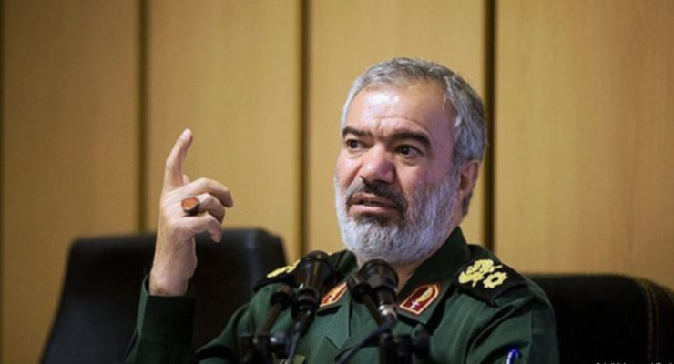 Revolutionary Guards Commander Gives Rare Estimate Of Money Iran Spent On Proxies, Military Aid In Region
