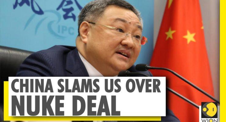 "China slams Trump Admin. as ""Saboteur"" on Iran Deal, ""Making a Mockery of Int'l Law"""