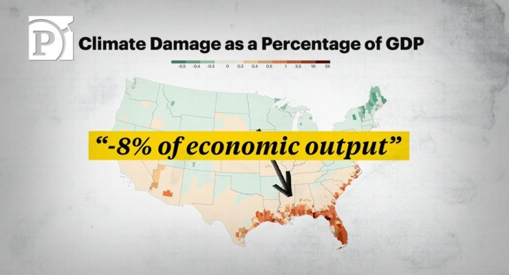 Climate Change Will Make Parts of the U.S. Uninhabitable; but Americans Are Still Moving There (ProPublica Video)