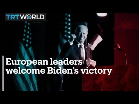 Europeans express relief, hope for climate cooperation after Biden win
