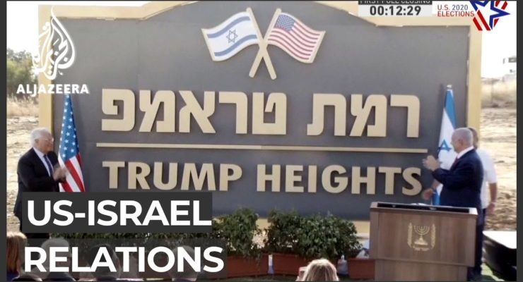Why is the Israeli Gov't Rooting for a 2nd Term for Trump and his White Nationalist, anti-Semitic Allies?