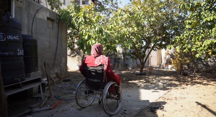 How One Palestinian Woman with a Disability Builds a Life in Israel-Besieged Gaza