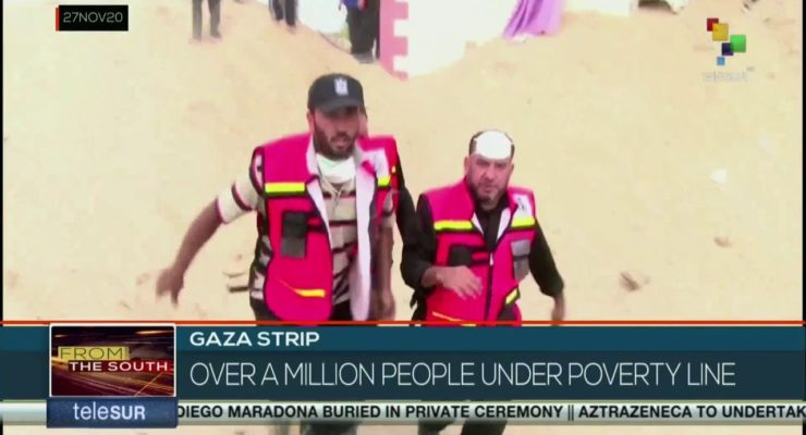 Israel's $16 billion siege on Gaza has forced 1 mn. into Poverty