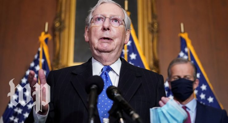 McConnell was holding up Stimulus over Shielding Businesses from Coronavirus Liability — A Very Bad Idea