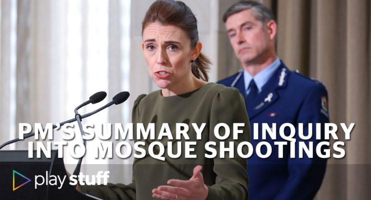 NZ's Ardern: Mosque Massacre was Enabled by ignoring White Supremacist Terror Threat and by YouTube Radicalization