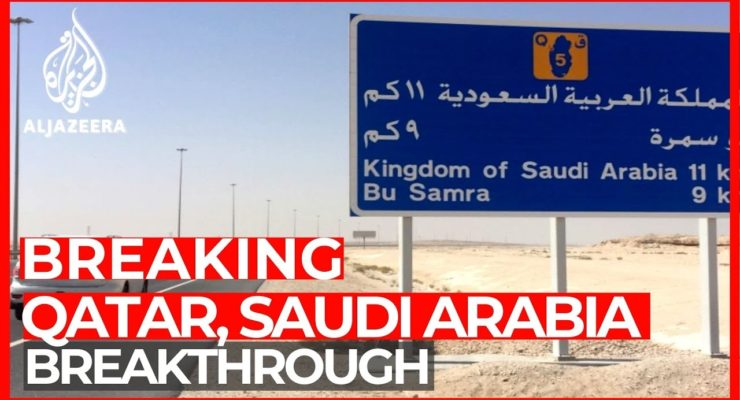 Already a New Boss in Town:  Saudis, afraid of Biden, Hurry to End their Blockade on Qatar