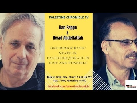 """One State for Israel and Palestine is a Game Changer"": A conversation with Ilan Pappe and Awad Abdelfattah on the one democratic state campaign"