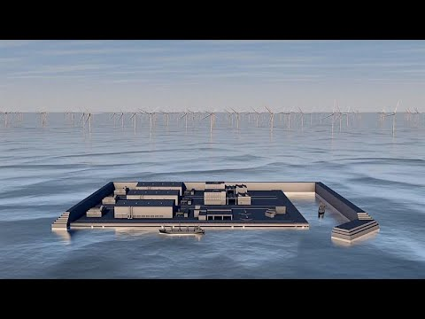 Denmark to build Artificial Island for Wind Farms to Power the Whole Country
