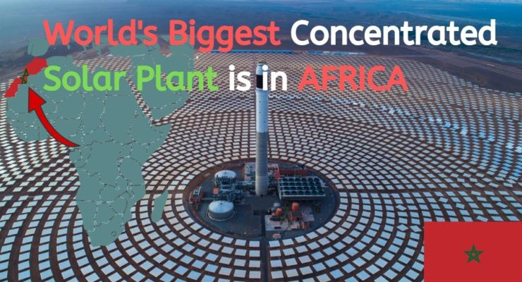 Morocco beats U.S. in Green Energy Future Index with Massive Saharan Solar Plant