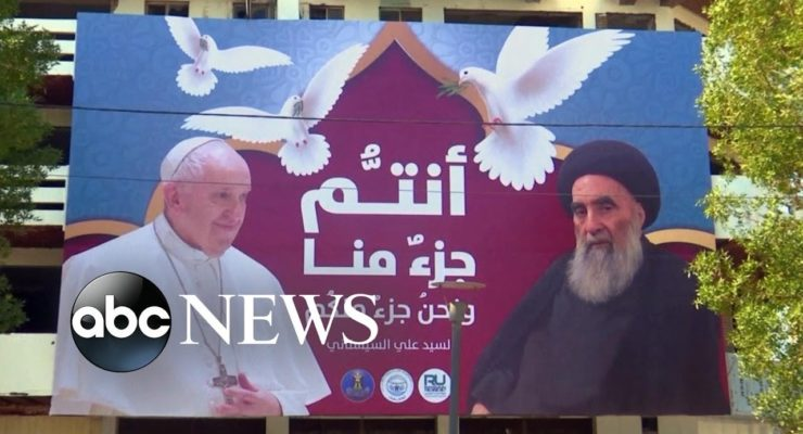 Pope Francis Preaches Tolerance in War Torn Iraq, and Even Militias Welcome Him
