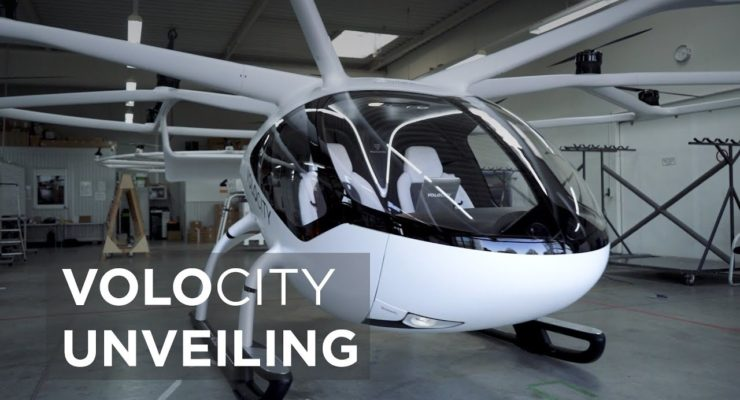 The Future of Airflight:  German electric air taxi pioneer Volocopter raises $238 mn
