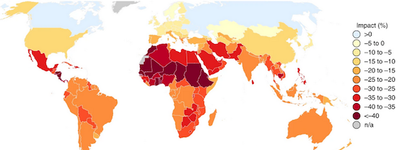 Middle East, Africa, in Special Trouble as Human-Caused Climate Emergency causes 30% drop in Agricultural Productivity Growth