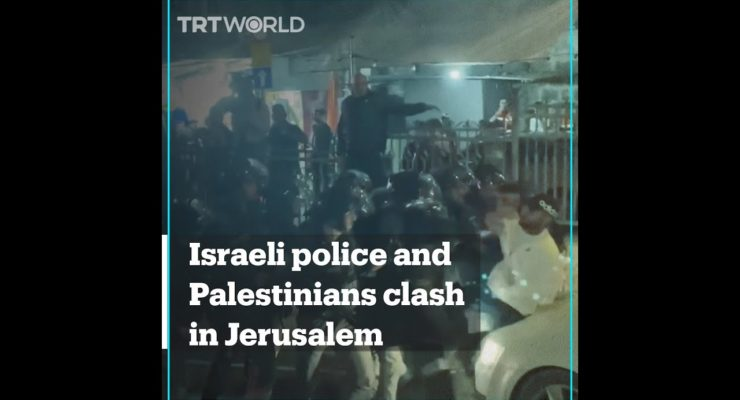 Israeli Police injure 12 Palestinians in Continued Iron Fist Crackdown on Jerusalem Ramadan Crowds